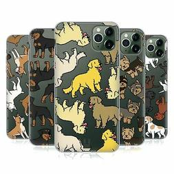 HEAD CASE DESIGNS DOG BREED PATTERNS 3 SOFT GEL CASE FOR APP