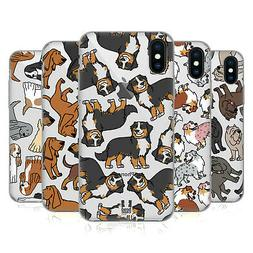 HEAD CASE DESIGNS DOG BREED PATTERNS 7 SOFT GEL CASE FOR APP