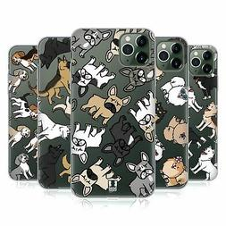 HEAD CASE DESIGNS DOG BREED PATTERNS SOFT GEL CASE FOR APPLE