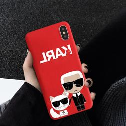 JAMULAR Fashion Karl Fitted <font><b>Case</b></font> For <fo