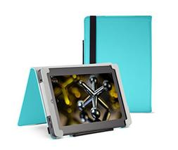 Fire HD 7 Case , Turquoise,  Nupro, Standing Case, Protectiv
