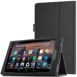 Infiland All-New Fire HD 8 Tablet Case - Premium PU Leather