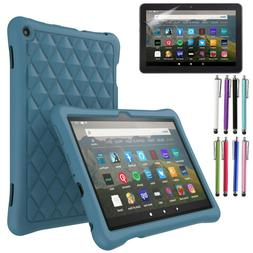 For Amazon Fire HD 8 Case 2017 / 2018 Anti-slip ShockProof R