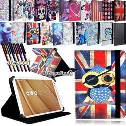 FOLIO LEATHER STAND CASE COVER For Various ASUS MEMO Pad 7 8