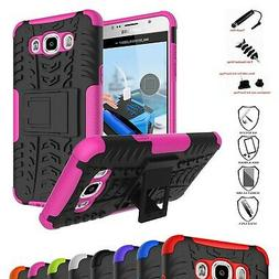 Galaxy J7 2016 Case,Mama Mouth Shockproof Heavy Duty Combo H