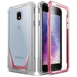Galaxy J7 2018 Case, Poetic Guardian  Full-Body Rugged Clear
