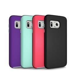 Galaxy S7 Case Hybrid Tough Cute Shockproof Rubber S7 Edge S