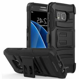 Galaxy S7 Case, MoKo Shock Absorbing Hard Cover Ultra Protec