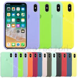 Genuine Original Silicone Case Cover For Apple iPhone X XR X