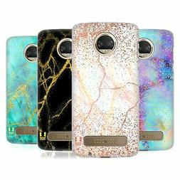 glittery marble prints hard back case
