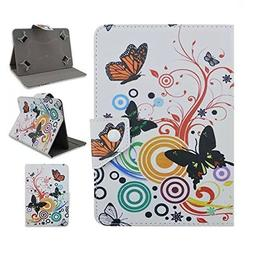 Tsmine Google Nexus 7 1st Tablet Flip Cartoon Case - Univers