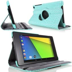 MoKo Google Nexus 7 2013 FHD 2nd Gen Case - 360 Degree Rotat