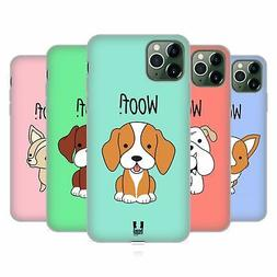 HEAD CASE DESIGNS HAPPY PUPPIES SOFT GEL CASE FOR APPLE iPHO