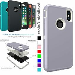 Heavy Duty Hybrid Protective Case Cover For iPhone 11 Pro XR