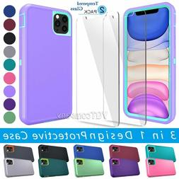 Hard Back ShockProof Slim Hybrid Case Cover iPhone 11 Pro XR