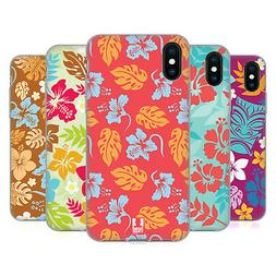 HEAD CASE DESIGNS HAWAIIAN PATTERNS SOFT GEL CASE FOR APPLE