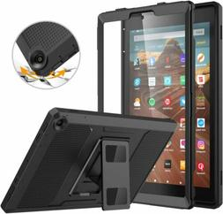 MoKo Case for All-New Amazon Fire HD 10 7th Gen 2017 Shockpr