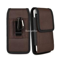 Heavy Duty Vertical Cell Phone Pouch Case Holder Holster Car