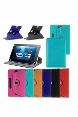 Hot 360° Folio Leather Case Cover Stand For Android Tablet