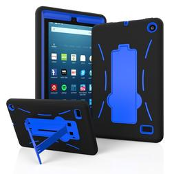 Hybrid Protective Rugged Hard Case for Amazon All New Fire 7