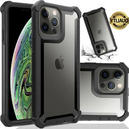 Hybrid Shockproof Heavy Duty Clear Case Fits In iPhone XS Ma