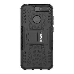 AMZER Hybrid Shockproof Warrior Kickstand Case For Huawei Ho