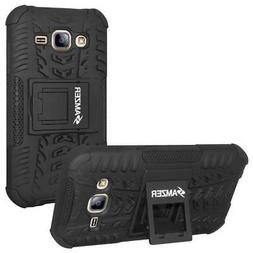 AMZER HYBRID WARRIOR KICKSTAND CASE FOR SAMSUNG GALAXY On7 O