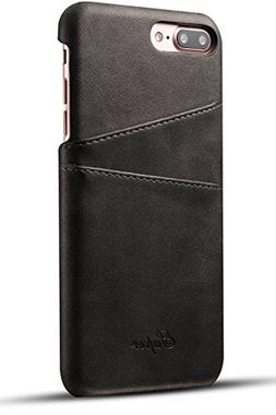 iPhone 8 Plus Card Case, XRPow Synthetic Leather Wallet Case