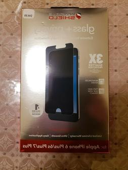 ZAGG Invisible Shield Case Glass + Privacy screen for iPhone