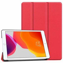 TiKeDa for iPad 10.2 2019 Case Classic Trifold Smart Stand 7