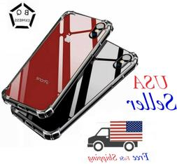 For iPhone Case Clear 11 Pro Max Xr Xs  8 7 Plus Shockproof