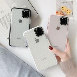 For iPhone 11 Pro Max XS Max XR X 8 SE 2 Shockproof Case Cut