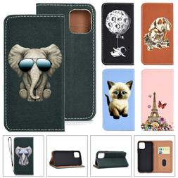For iPhone 11 Pro Max XS XR 6s 7 8 Magnetic Flip Leather Wal