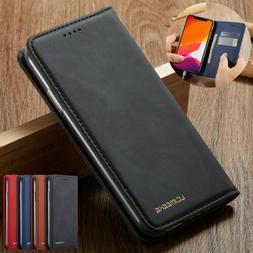 For iPhone 11 Pro Max XS XR X 8 7 6 5 Flip Cover Leather Wal
