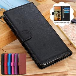 For iPhone 12 11 Pro Max XS XR X 8 7 6 Plus Leather Wallet C
