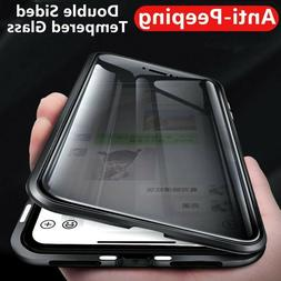 For iPhone 12 PRO MAX 11 XS XR 8 360 Protective Magnetic Ant