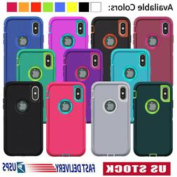 For iPhone 6 6S 7 Plus 11 Pro XS Max XR Case Heavy Duty Shoc