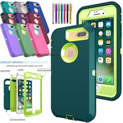 For iPhone 6 7 8 Plus Case Cover Protective Hybrid Rugged Sh