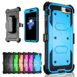 For iPhone 7 7Plus Belt Clip Holster Shockproof Rugged Prote