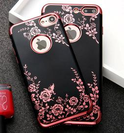 for iPhone 7/8 & 7+/8+ PLUS - Soft TPU Rubber Gummy Case Cov