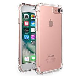iPhone 7 Case,iPhone 8 Case, Amuoc Crystal Clear Cover Case