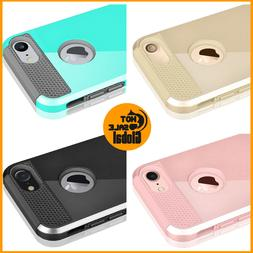 For iPhone 7 Case Hybrid Hard Heavy Duty Shockproof Rubber i