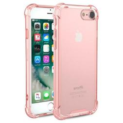 MoKo for iPhone 7 Case/iPhone 8 Case, Crystal Clear Shock Ab