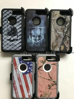 Camo Case For iPhone 7 Plus & iPhone 8 Plus With