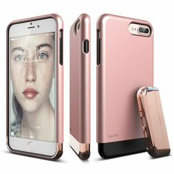 elago iPhone 7 Plus case Glide Rose Gold military drop shock