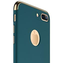 iPhone 7 Plus Case, RANVOO Thin Hard Slim Fit Stylish Cover