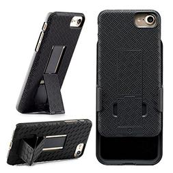 iPhone 8, iPhone 7 Holster, WizGear Shell Holster Combo Case