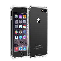 iPhone 8, iPhone 7 Case, iXCC Crystal Clear Hard Cover Case
