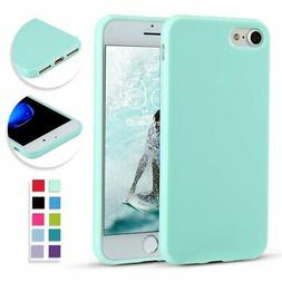 For iPhone 8 7 Case Slim Thin Soft Shockproof Silicone Gel R