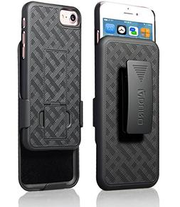iPhone 8/7/6/6s Holster Case, Aduro Combo Shell & Holster Ca